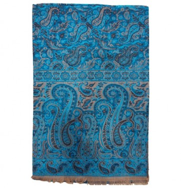 awesome embroidery pure kashmiri womens Shawl