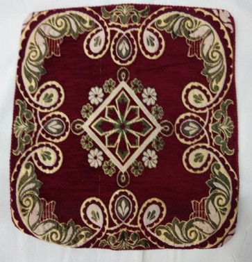 Maroon Cushion Cover Mix Design