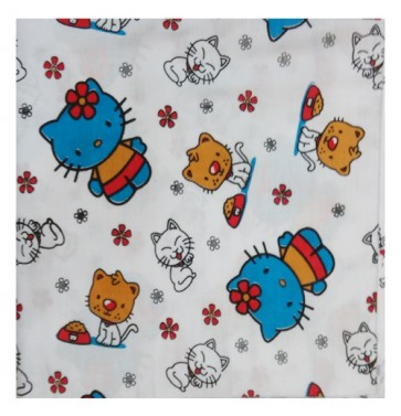 hello kitty cartoon cotton ac shawl