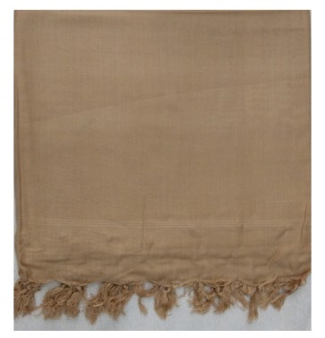 light coffee cotton ac shawl