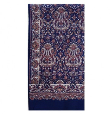 pashima cashmeeri pure wool women shawl blue