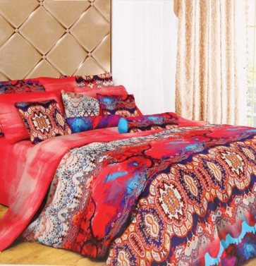 Abstract Design Double Bed Sheet