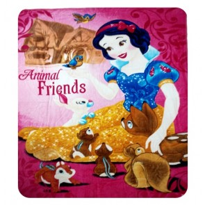 Disney Barbie Kids Single Bed Blanket Quilt Throw  by signature