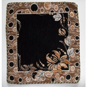 Black  Designer Cushion Cover