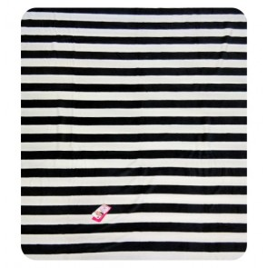 Black and white Zebra stripe Throw Blanket