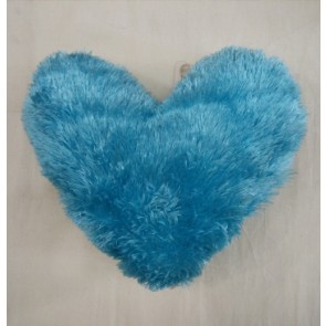 Heart Shape  Cushion Pillow - Blue