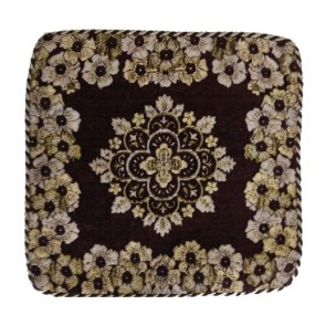 coffee flowers contemporary cushion covers 12x12 Inches