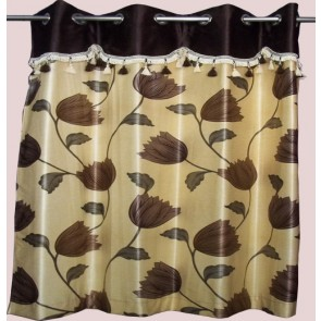 Cream Lotus Curtain