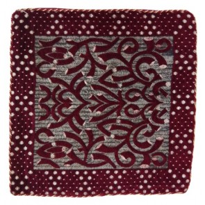 maroon supreme cushion cover