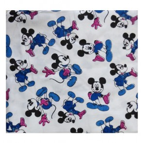 mickey cotton ac shawl - blue