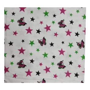 star and butterfly cotton shawl