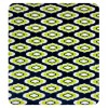 Blue and Green Double Bed Quilt Throw