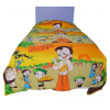 Chota Bheem Kids Single Bed Reversible Blanket Quilt (Dohar)