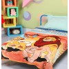 Lion king Kids Single Bed Blanket Quilt